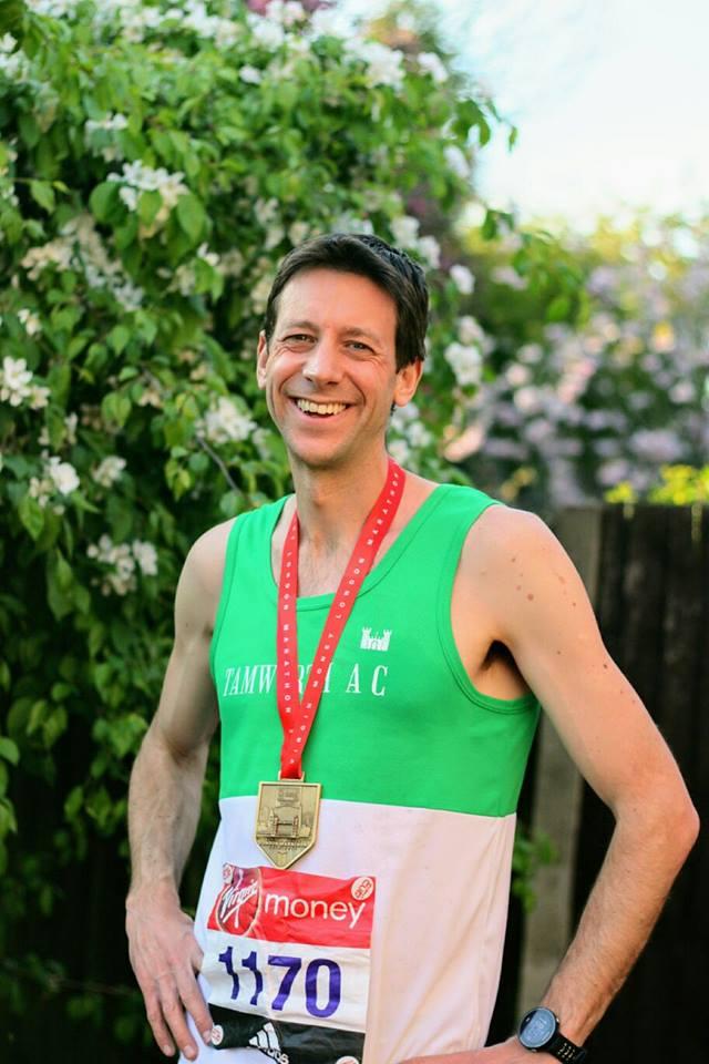 Ben Evans London Marathon