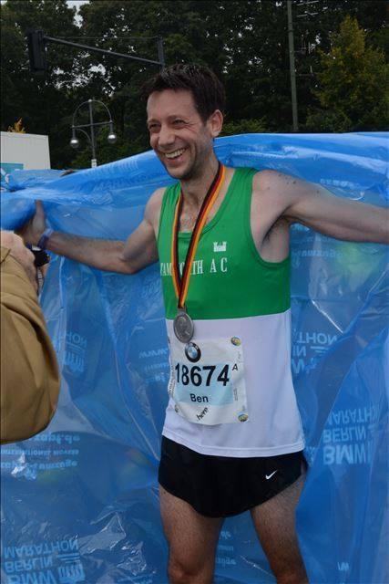 ben Evans Berlin Marathon